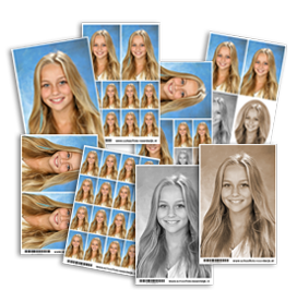 Losse schoolfotoprints